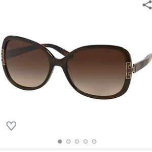 Tory Burch TY 7022 Sunglasses in olive block NWOT